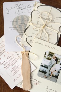 Paper.  One of the Most Important Elements in Your Wedding