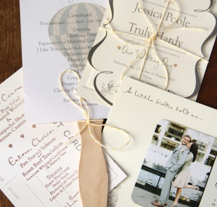 Poole Hardy Wedding Skinner Barn Vermont Wedding Paper