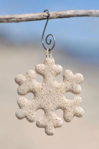 Sweet Sandy Snowflakes!