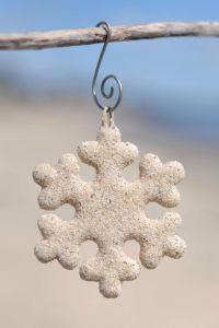 Sweet Sandy Snowflakes!