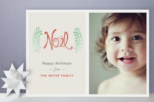 Minted Traditional Holiday Card