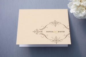 Minted Traditional Thank You Card