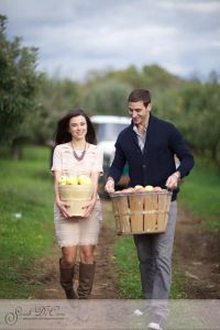 The Apple of Her Eye...An Orchard Engagement Session