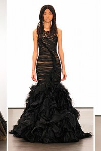 Black Friday, Black Couture Wedding Gowns