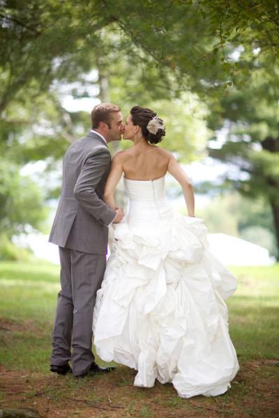 Sample Wedding Dresses Versus Real Wedding Dresses | Photograph by Sarah DiCicco Photography