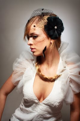 Lifting The Veil On Traditional White, Black Birdcage Veils