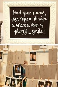 Using Photos of your guest at your wedding to let them know you care