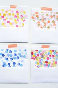 Stamped Envelope Liners by Oh Happy Day
