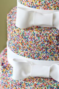 The Jimmy Cake Makes A Come Back!  Who Knew Sprinkles Could Be So Upscale!?