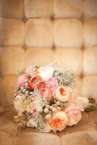 A Perfectly Styled Bridal Inspiration Shoot Filled With Garden Roses A...