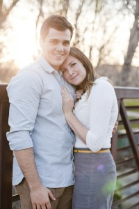 Sun Kissed Love In This Lora Grady Engagement Session