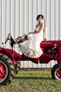 Rustic Elegance In This Country Cornfield Wedding Complete With Rain D...