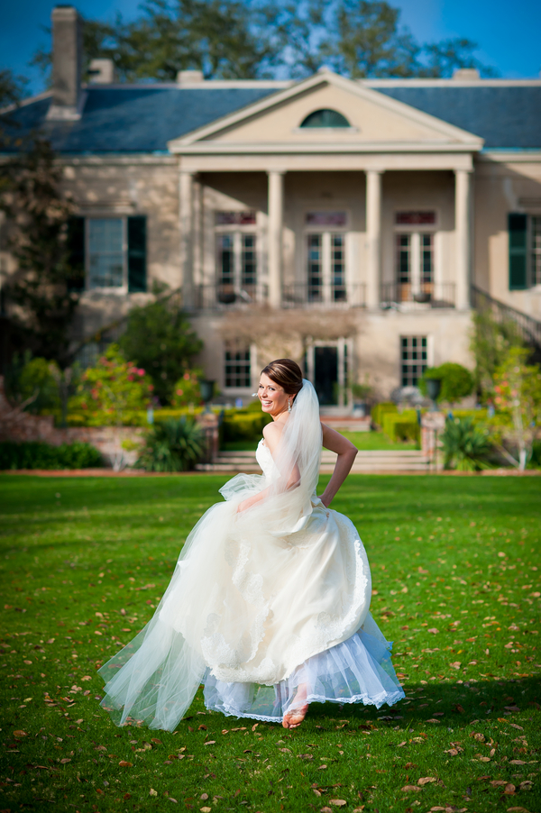 Bridal Portrait Series: Louisiana Classic Elegance With A Side of Spic...