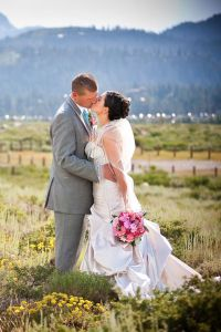 Nature's Finest On Display In This Mammoth Lake Stunner of A Wedding
