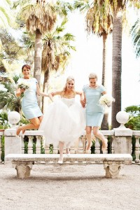 60s Feel In This Modern Intimate Italian Wedding Featuring Smiles &amp...