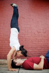 The Power of Movement & Laughter In Life, Free Spirited Engagement Photo Session