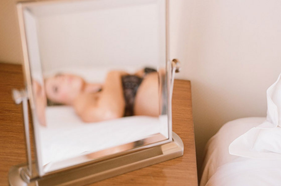 The Essence of Boudoir-How It Truly Is Art & A Sweet Hollywood Boudoir Shoot