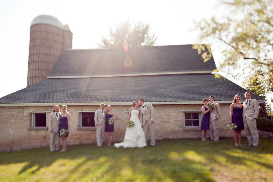 Gorgeous Pavilion Orchard Farm Wedding Featuring A Stunning Giant Element