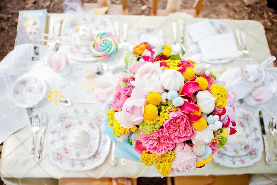 How Sweet It Is Indeed!  A Styled Candy Themed Wedding Gives Wonka A Run For His Money