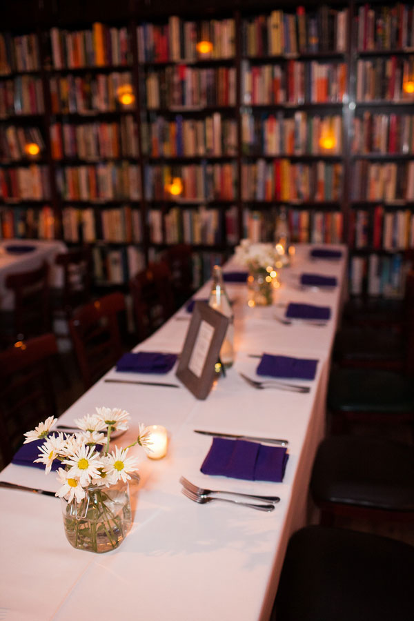 An Offbeat & Truly Unique Wedding At A Manhattan Bookstore