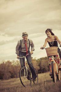 Tour de Fat Beers & Bikes Themed Fort Collins, Colorado Engagement Session