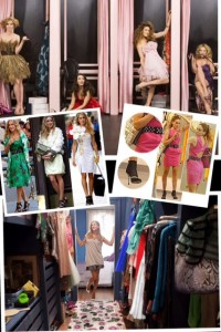 Sarah Jessica Parker Carrie Bradshaw Fashion Closet