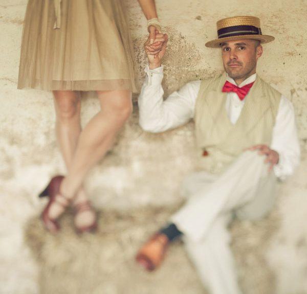 Jessica & Clint Prohibition Era Styled Shoot Tyler Boye Photography