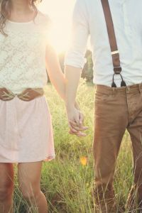{Feature Sneak Peek!} An Pin Worthy Anthropologie Inspired Engagement Session