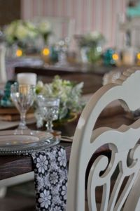 Mix Matched Vintage Cream Chairs Make Magic Happen In Wedding Decor