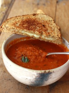 Garden Tomato Basil Soup