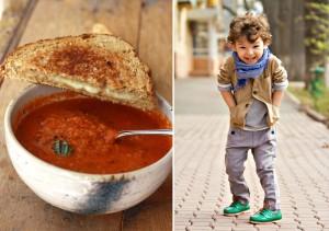 Garden Tomato Basil Soup Hip Fall Ring Bearer Outfit
