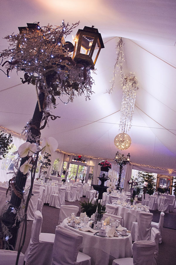 Midnight Garden Feel In This Laguna Beach Wedding Touched By Enchanting Hues   Photograph by Jacquelyn Rachel Photography