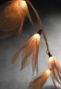 40099924800 skeleton leaf string lights