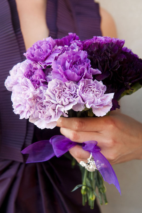 Perfect, Pretty, Plum Inspiration- Purple Hued Contemporary Wedding Inspiration | Photograph by Reese Moore Weddings