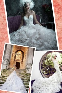 Real Bride Blogger Stephanie Wedding Dress Inspiration