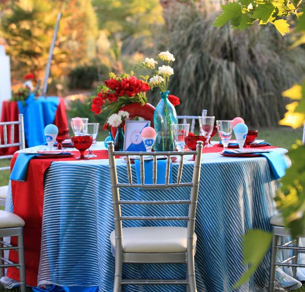 Prime New Modern Take On Red White Blue Wedding With Snowcone Pdpeps Interior Chair Design Pdpepsorg