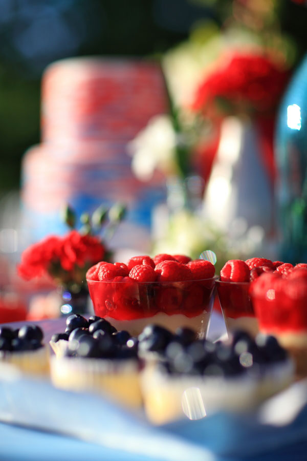 Red, White & Blue Wedding With Snow cones & Summer Love   Photograph by Photo Love Stories