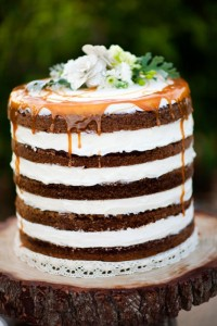 Rustic Layer Cake No Icing