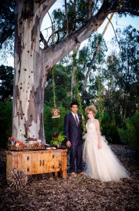 Fairy Tale Magic Inspires This Wood Nymph Materialized Wedding Of Organic Wonder & Beauty |  Photograph by Paul Douda Photography