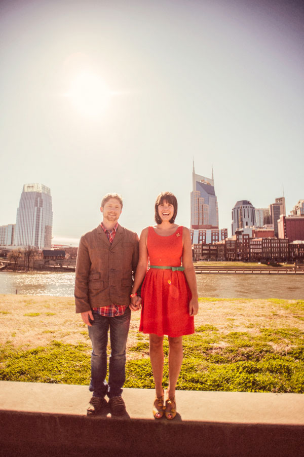 Nashville Sevier Park Cozy Winter Engagement | Photograph by Jen Yuson Photography