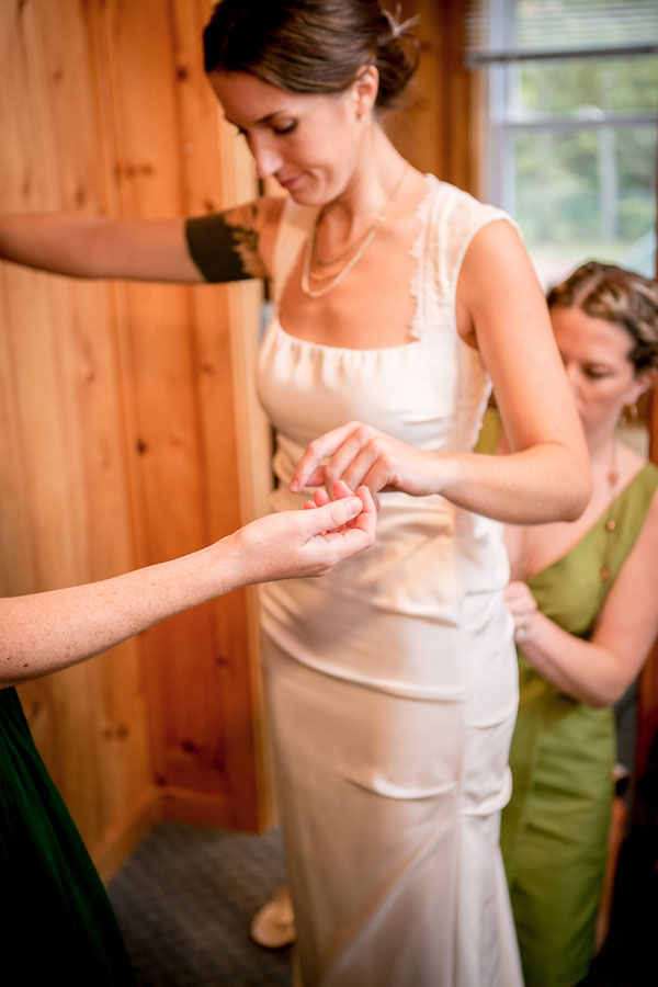 Autumn Forest Delight Sets The Tone For A New England Lake Side Wedding   Photograph by Ampersand Wedding Photography
