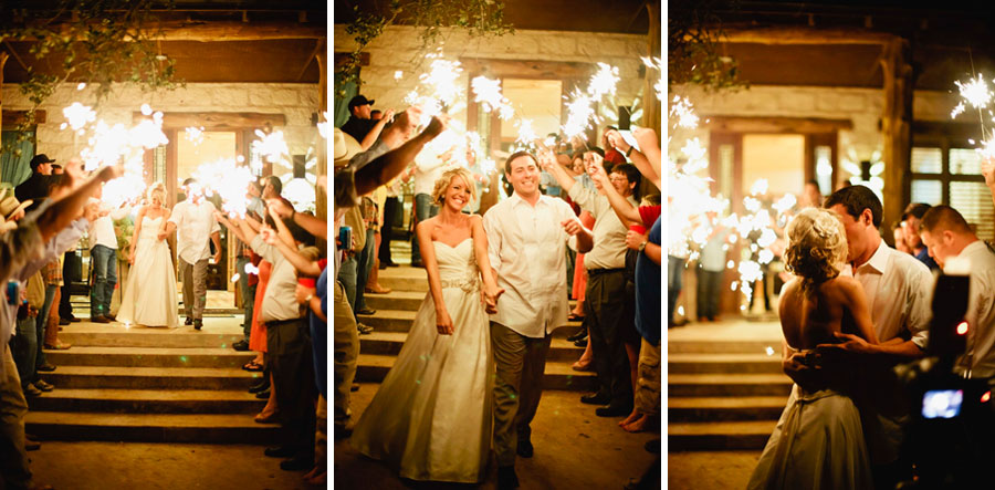 Country Chic Wedding Sparkler Send Off - Storyboard Wedding