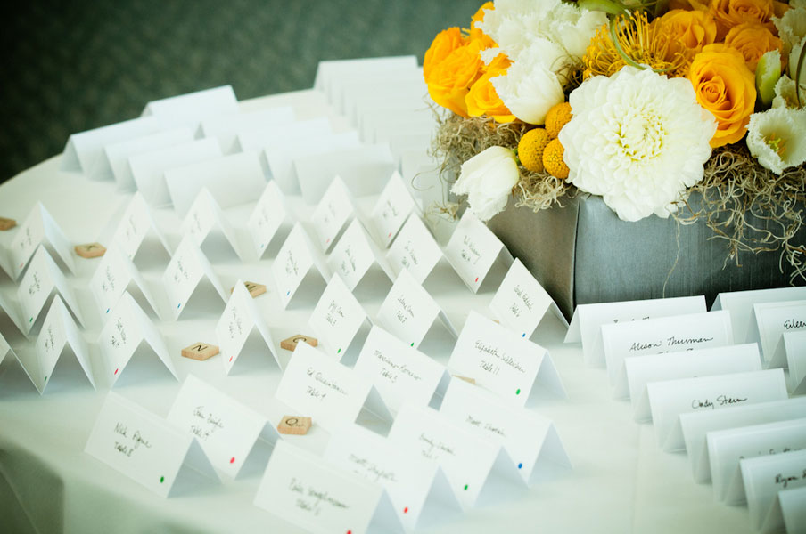 Modern Wedding At Denver Museum of Nature and Science With Touches of Yellow | Photograph by Kelli Nixon Photography