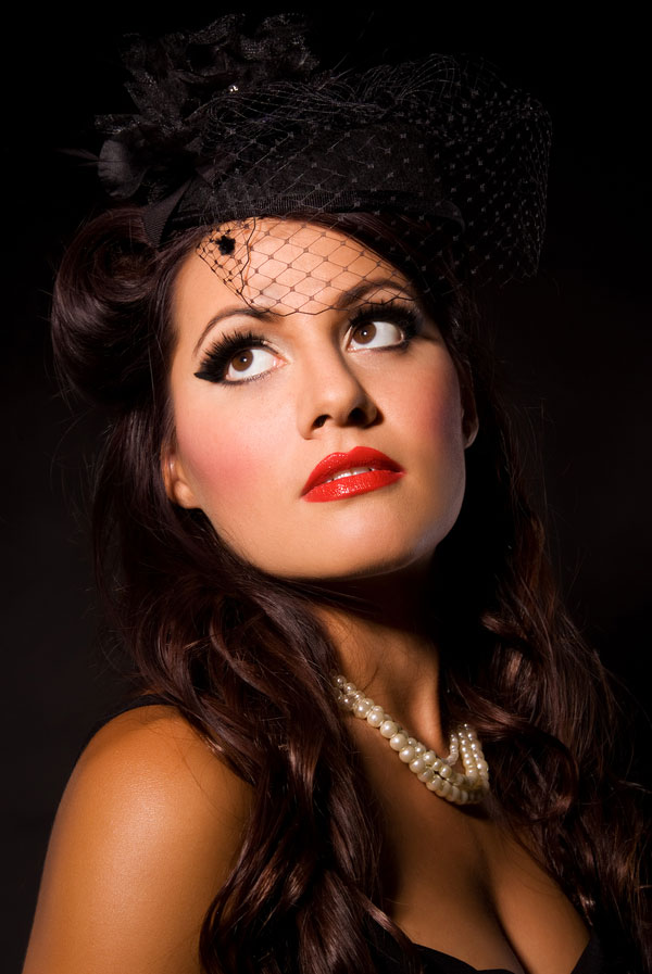 1940s Inspired Pinup Boudoir With A Military Nod & Burlesque Feel | Photograph by Serena Star Photography