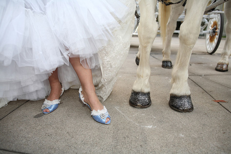 Fairytale Wedding Brought To Life With The Help Of Cinderella