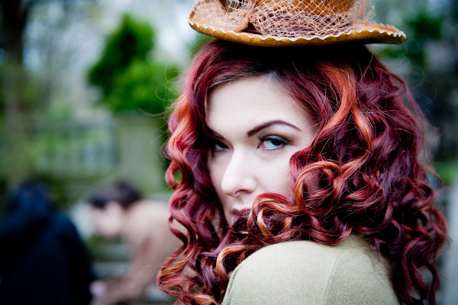 Ruffles, Locks, & Gears- The Softer Side of A Steampunk Inspired Wedding   Photograph by BG Productions