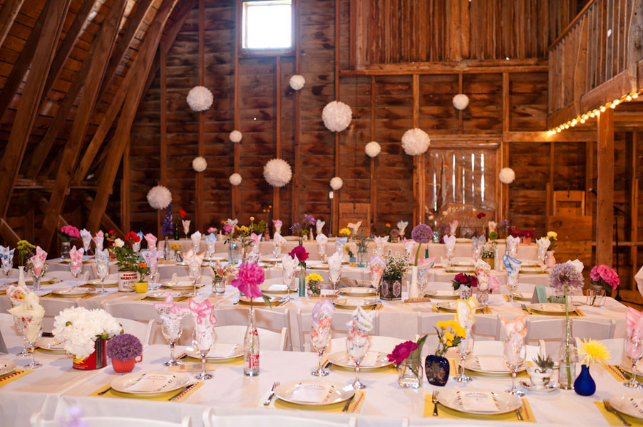 Chic Rustic Red Barn Wedding With Whimsical Touches Lots Of Amazing Diy Photograph By