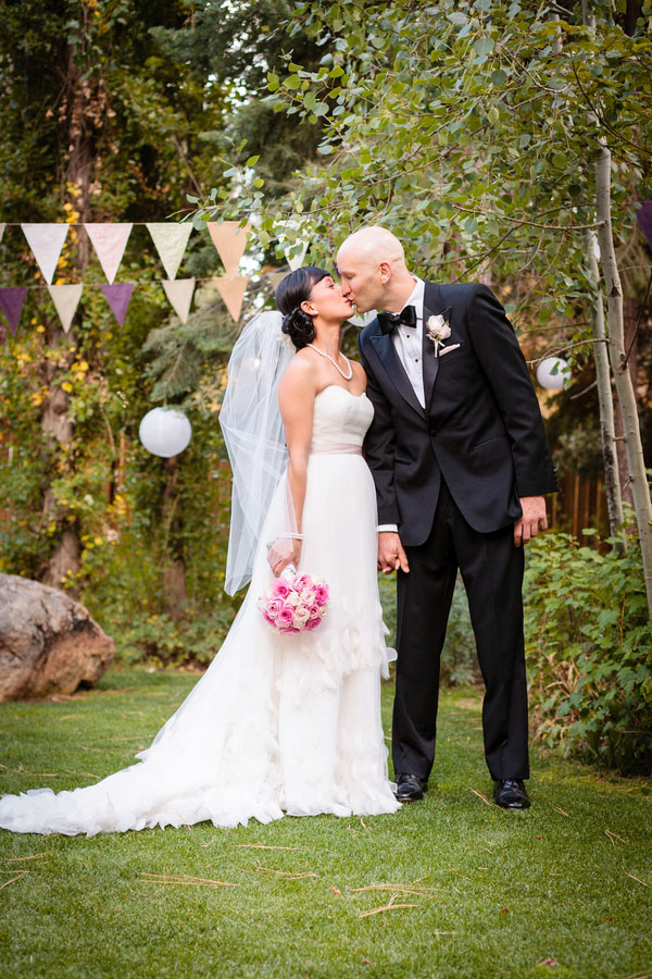 Must Love Dogs In This Lake Tahoe Lake Forest Retreat Sophisticated Outdoors Wedding   Photograph by Eric Asistin Photography