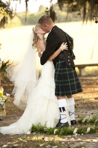 South Carolina Marshland Wedding Featuring A Wee Spot Of Scottish Flai...