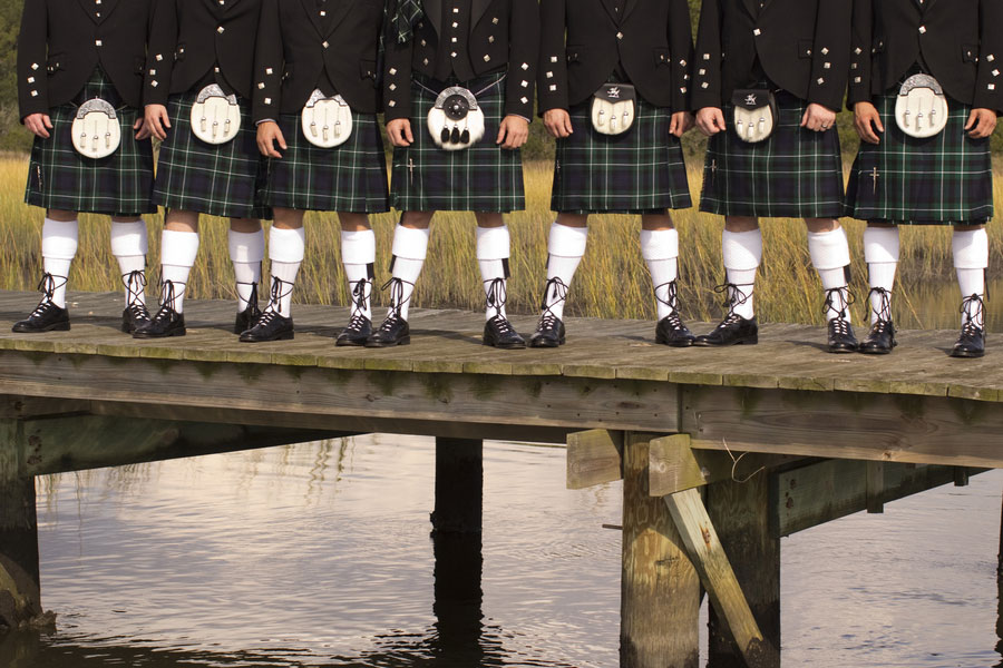 South Carolina Marshland Wedding Featuring A Wee Spot Of Scottish Flair & BBQ | Photograph by Reese Moore Weddings  https://storyboardwedding.com/south-carolina-marshland-wedding-featuring-a-wee-spot-of-scottish-flair-bbq/